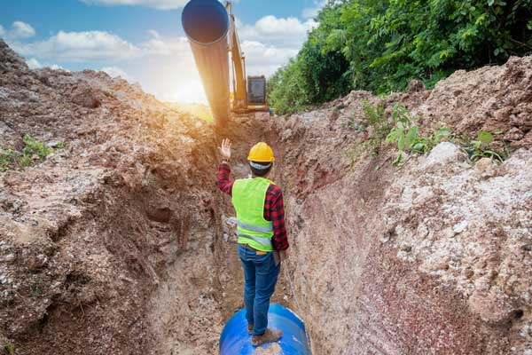civil inspection works performed by engineer