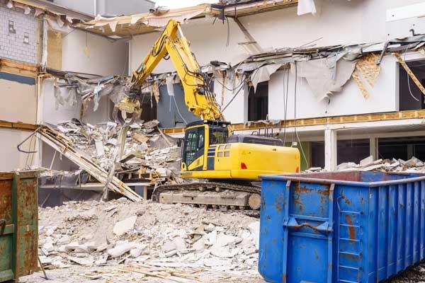 industrial property demolition works