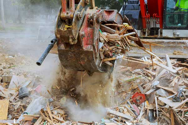 site clean ups after house demolition